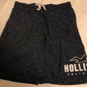 Hollister fleece shorts